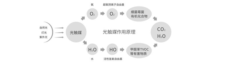 树派光触媒除甲醛原理